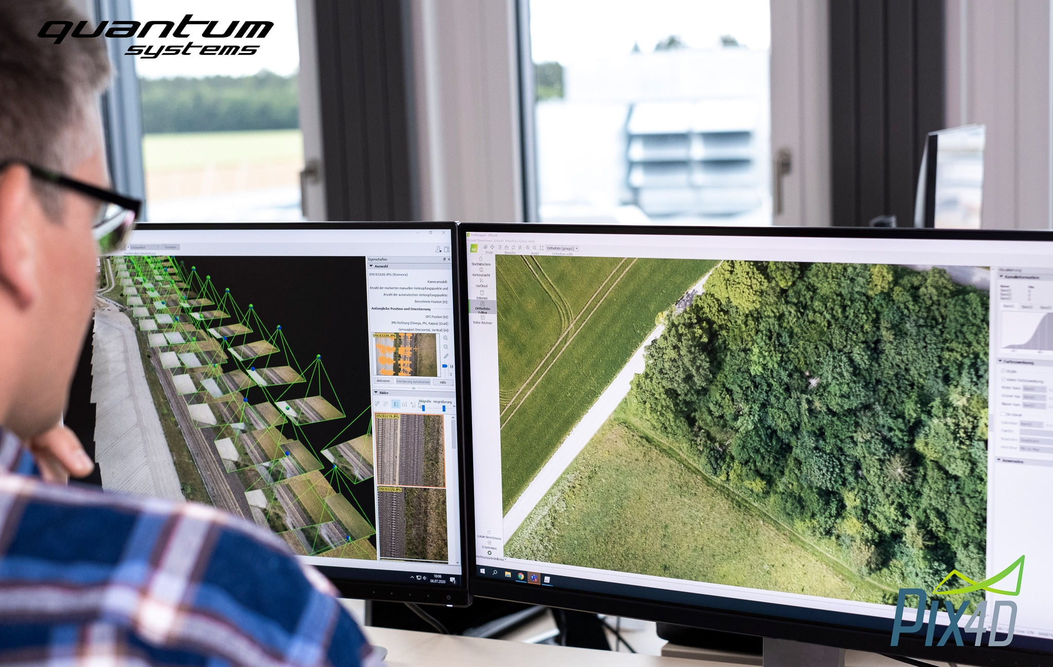 Quantum-Systems GmbH and Pix4D announce official partnership_5