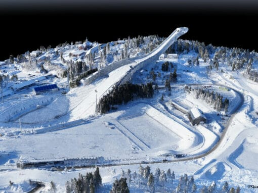 UseCase_Mapping the Holmenkollen Ski Arena / Norway