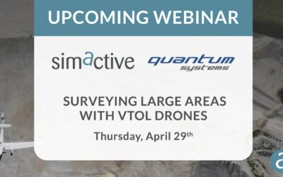 April 29th – Processing of Quantum-Systems Drone data Integrated in SimActive Software